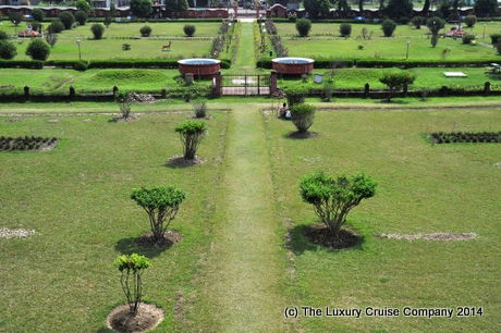 View of the grounds at Rang Ghor