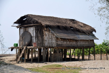 Traditional Mishing Village House