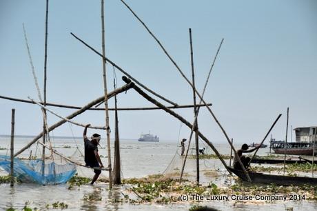 Cantilevered Fishing Nets, Brahmaputra River