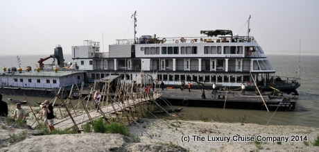 Docked at Silghat