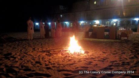 Beach BBQ on the Brahmaputra River