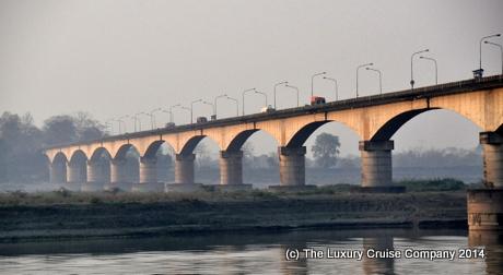 Saraighat Bridge, Brahmaputra River