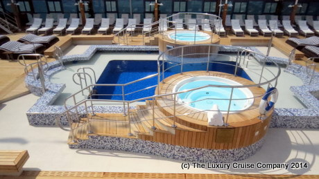 Pool Deck on Nautica