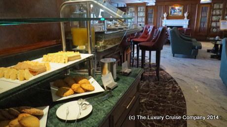 Baristas Coffee bar on Nautica