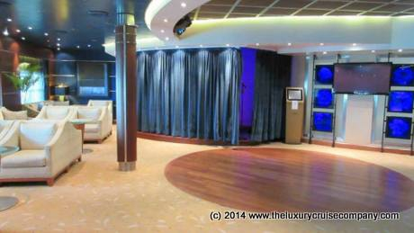The night club on Seven Seas Voyager