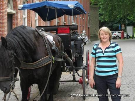 Jacqui in Brugges