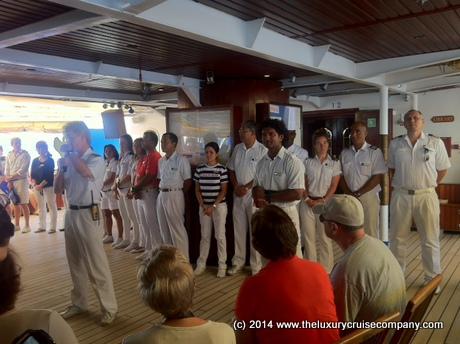 Crew Introductions - Royal Clipper