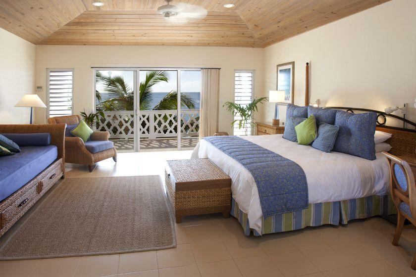 Bluff Room, Curtain Bluff, Antigua