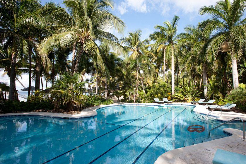 Pool at Curtain Bluff, Antigua