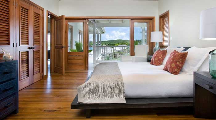 Bedroom at Nonsuch Bay, Antigua