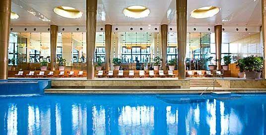 Crown Towers pool