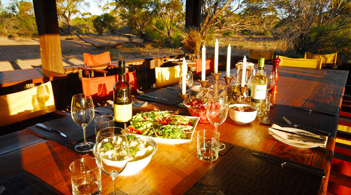 Dining, Kangaluna Camp, Gawler Ranges