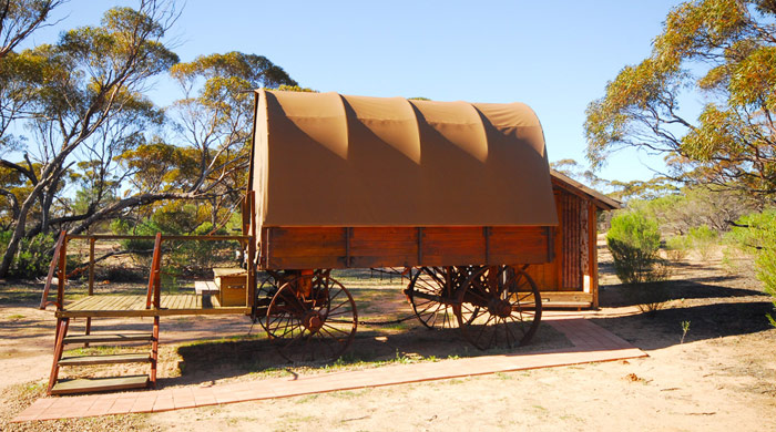 The Swagon, Kangaluna Camp, Gawler Ranges