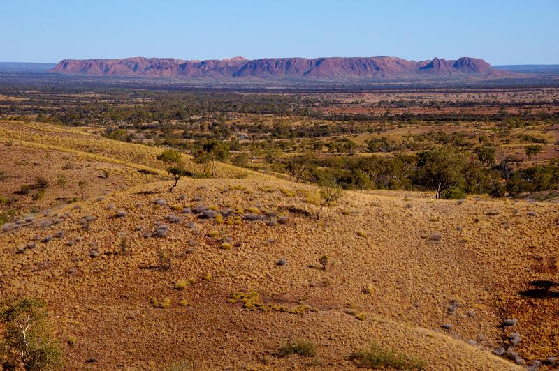 Outback scenery near Alice Springs