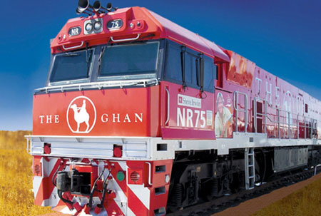 Ghan Railway Australia