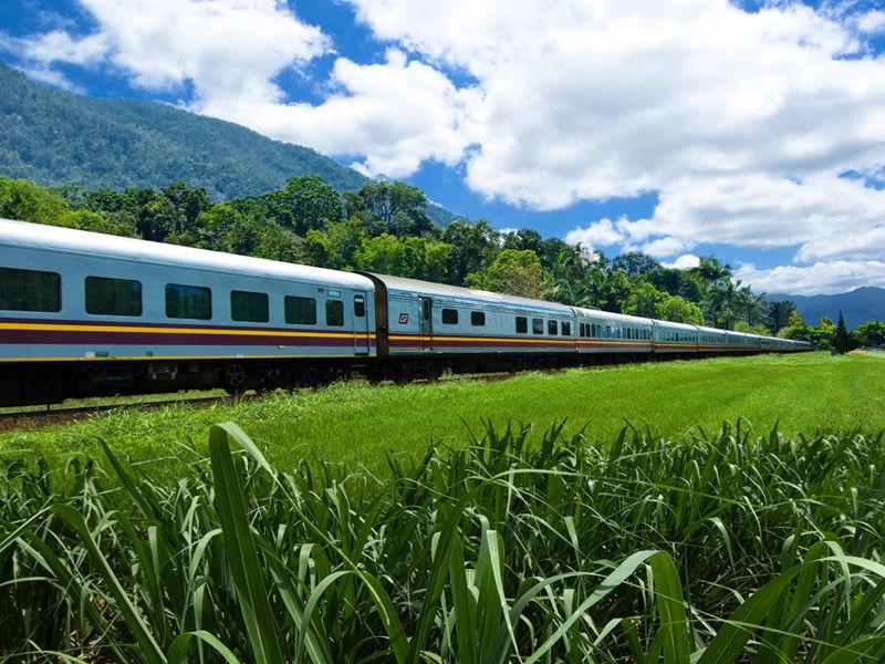 Sunlander train Australia