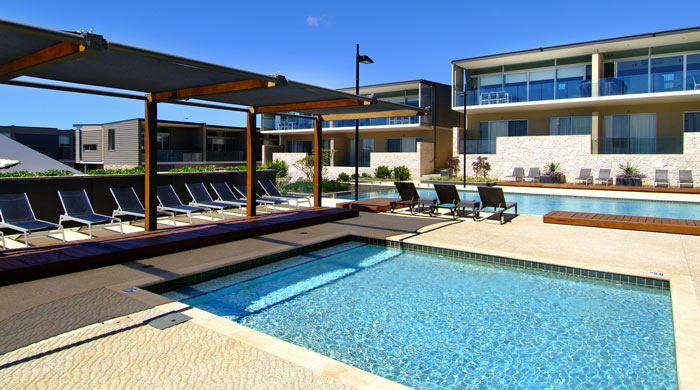 Pool at Smiths Beach Resort, Margaret River, Western Australia