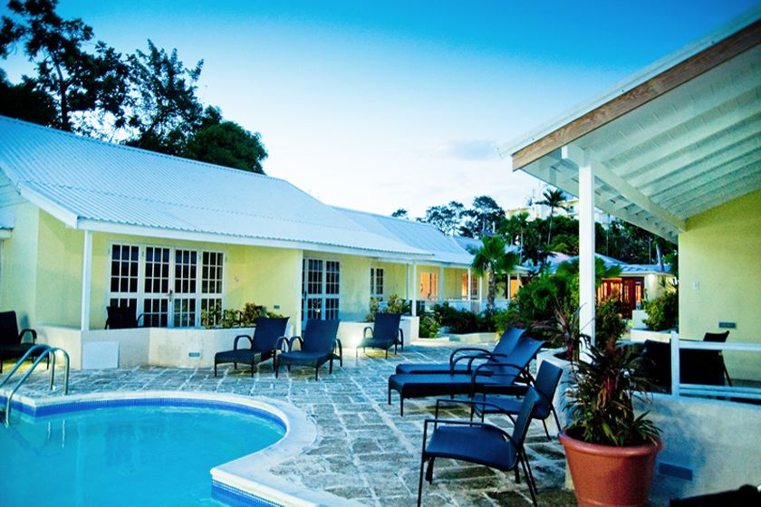 Pool at Island Inn, Barbados
