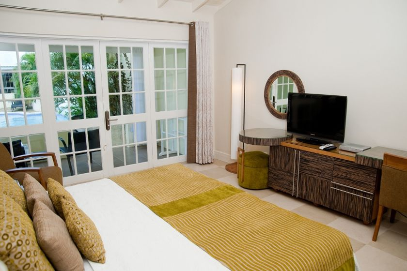 Poolside room at Island Inn, Barbados