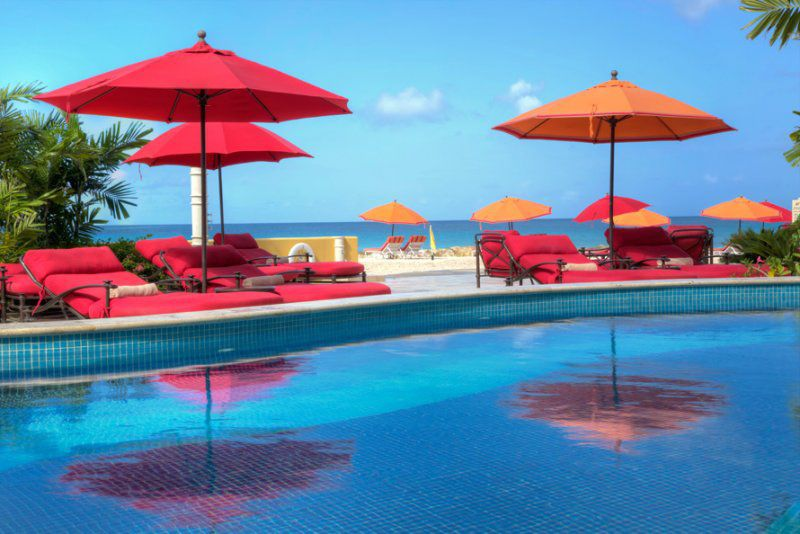 Pool at Ocean Two, Barbados