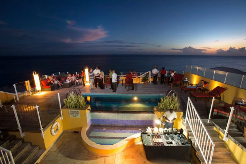 Panorama rooftop at Ocean Two, Barbados