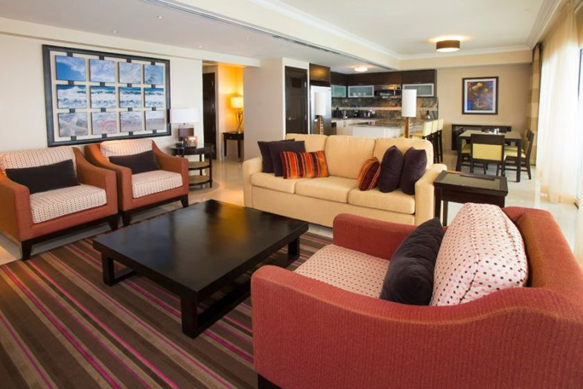Two bedroom penthouse at Ocean Two, Barbados