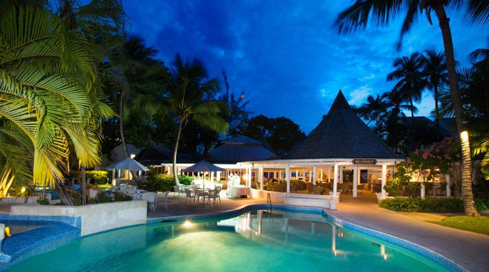 Sunset Restaurant, The Club, Barbados Resort & Spa