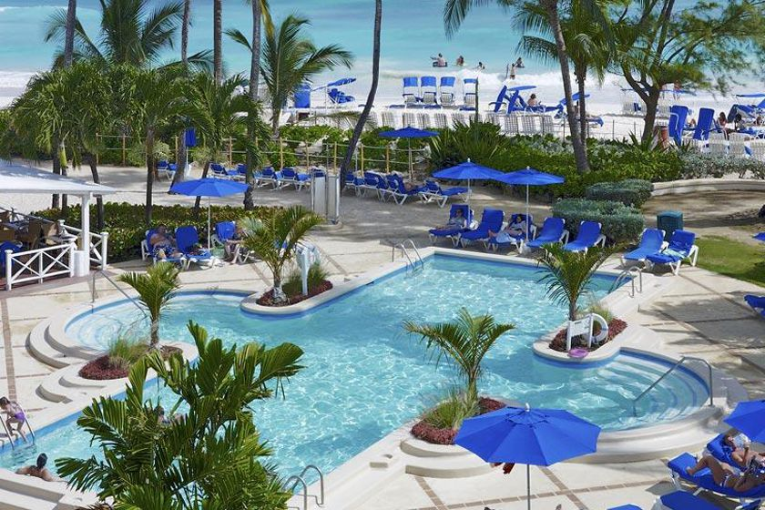 Pool at Turtle Beach Resort, Barbados