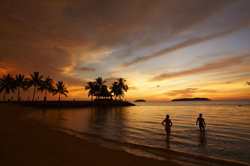 Sunset from the Shangri-La Tanjung Aru, Kota Kinabalu, Borneo