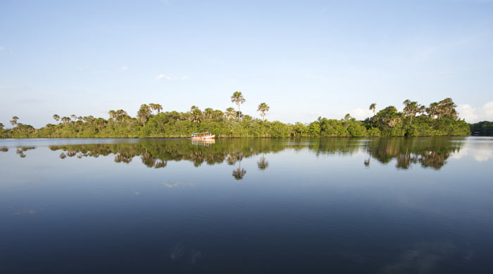 Preguicas River, Brazil