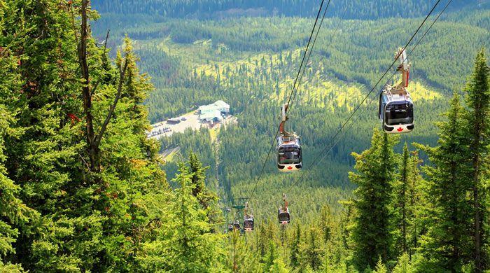Banff Gondola, Banff, Canada