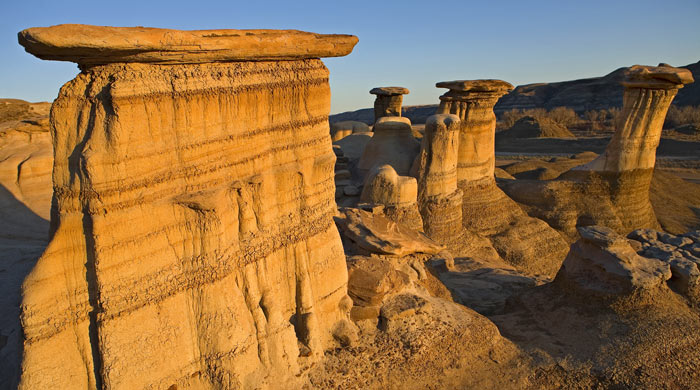 Hoodoos, Canadian Badlands, Alberta