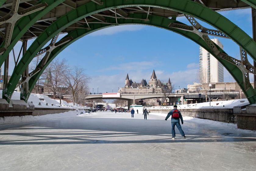 Ottawa Rideau Canal Canada