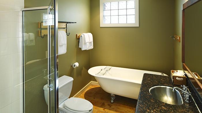 Open Studio Bathroom, Buffalo Mountain Lodge