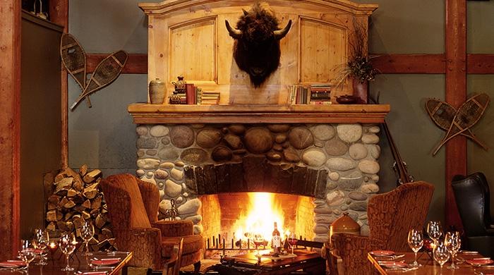 Lounge, Buffalo Mountain Lodge