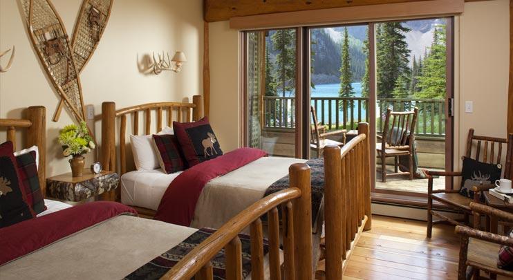 Bedroom, Lake Moraine Lodge