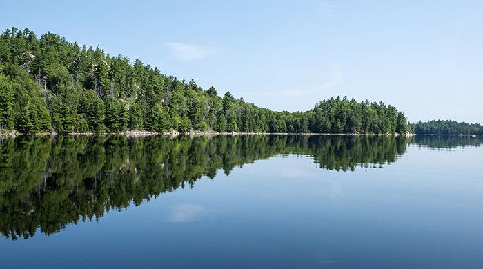 Bell Lake, Killarney Provincial Park