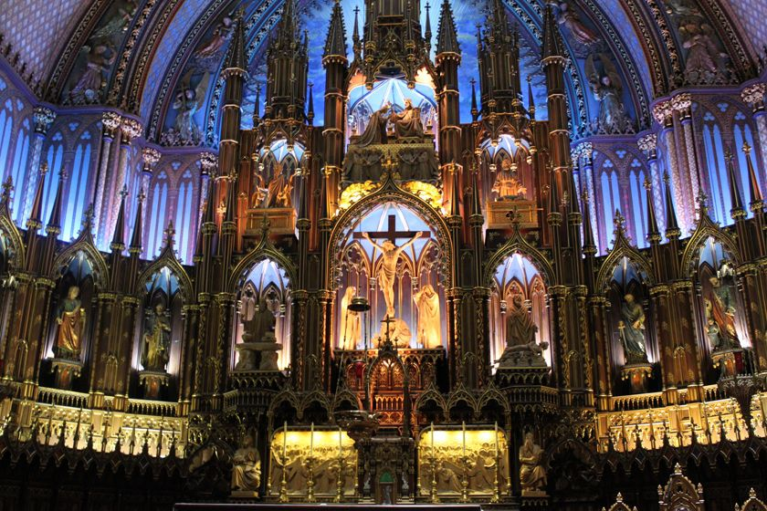 Montreal Cathedral interior