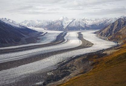 Glacier, Kluane National Park, Yukon
