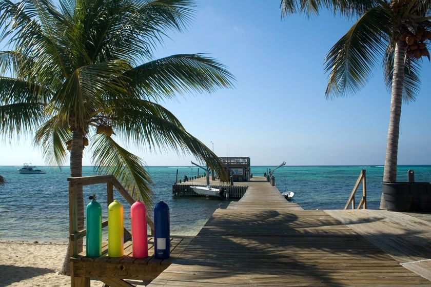 Dock at Little Cayman Beach Resort