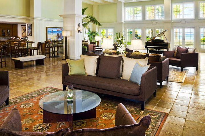 Lobby at Westin Grand Cayman