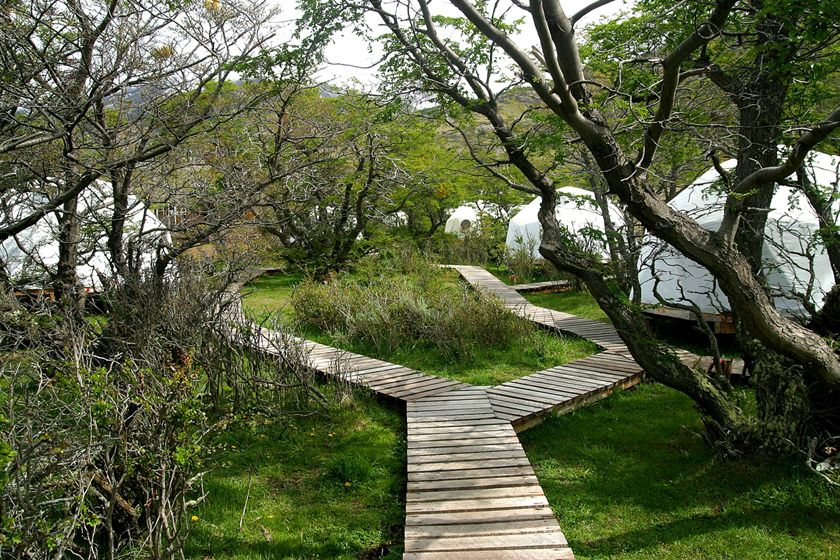 Guest huts at EcoCamp, Torres del Paine