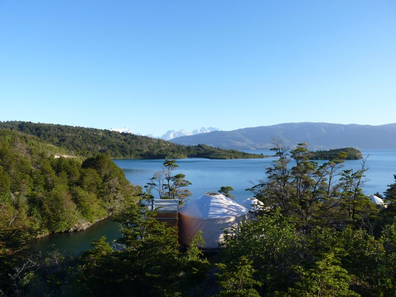 Yurt, Patagonia Camp