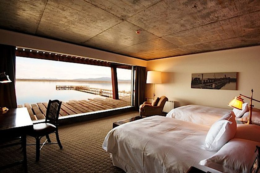Twin room at The Singular Patagonia