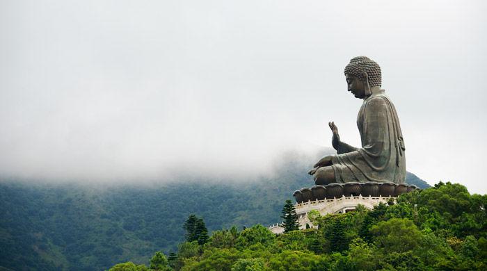 Big Buddha, Lantau Island, Hong Kong