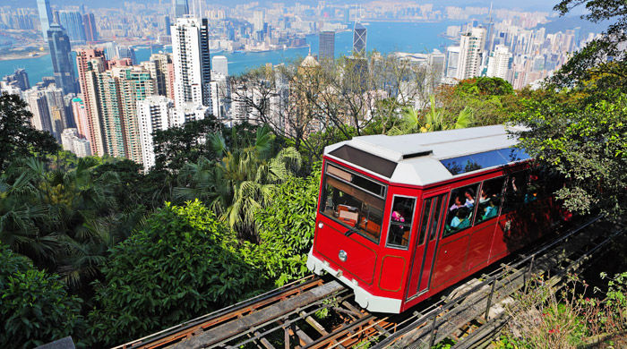 Peak Tram, Hong Kong