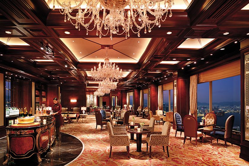 Horizon Club Lounge, Island Shangri-La, Hong Kong