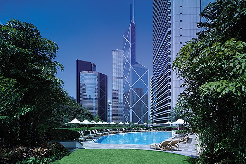 Pool at Island Shangri-La, Hong Kong