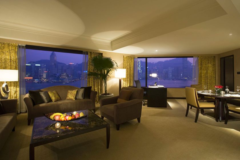 Deluxe Suite at Intercontinental Hong Kong