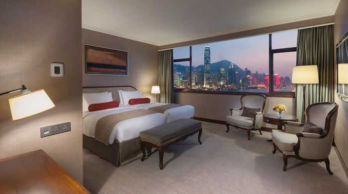 Harbour View Room. Marco Polo Hongkong Hotel